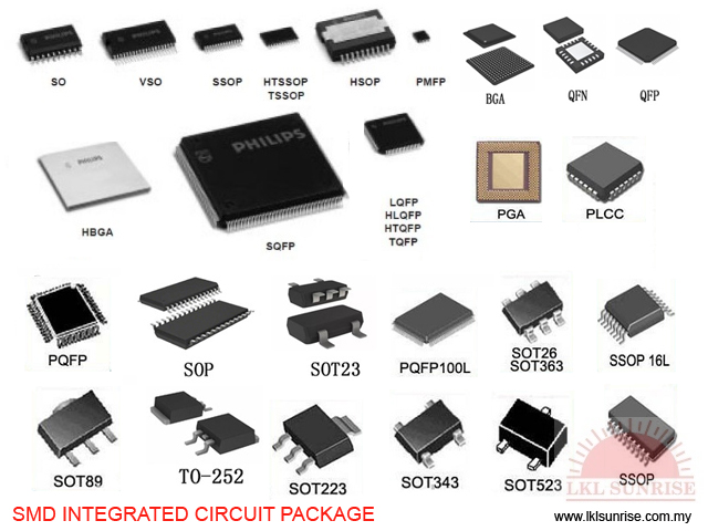 SMD INTEGRATED CIRCUIT PACKAGE - LKL SUNRISE ELECTRONIC (M
