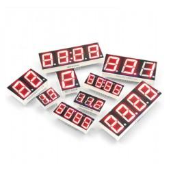 LED 7SEGMENT DISPLAYS 0.36/0.56INCH CA/CC RED