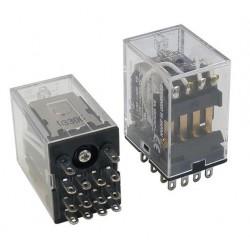 POWER RELAY 4PDT 12V 24V 220/240V
