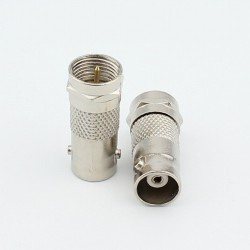 BNC FEMALE TO F TYPE MALE ADAPTER